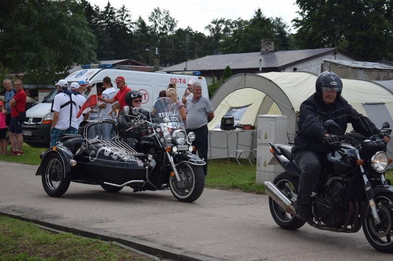 Nowy Duninów - parada motocykli (fot. PJ)