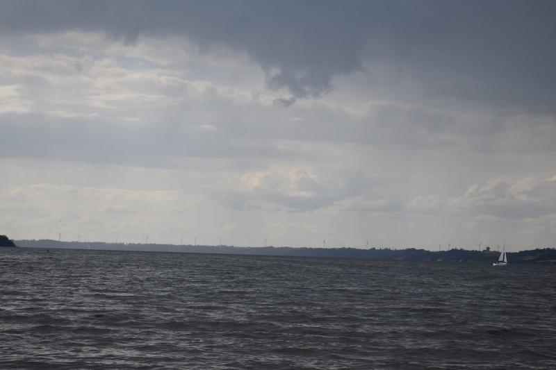 Nowy Duninów - widok z poziomu Wisły (fot. PJ)