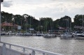 Nowy Duninów nad Wisłą – port jachtowy oraz zabytki -