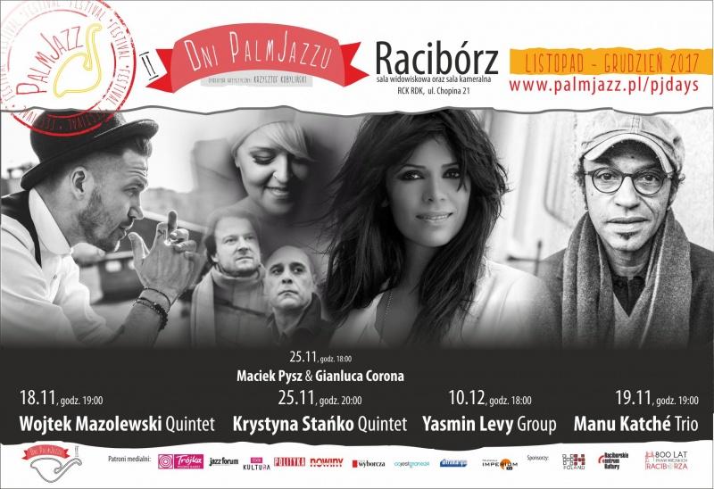 Plakat Palm Jazz Days Festiwal (źródło: materiały prasowe)