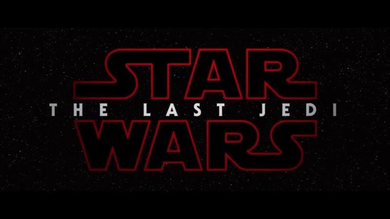"""Napisy początkowe do 8 epizodu """"Star Wars"""", tym razem dominuje kolor czerwony (źródło: youtube.com/sreenshot)"""
